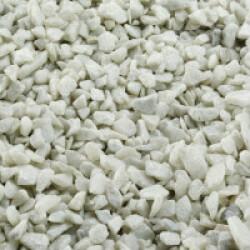Gravier épais 6-9 mm blanc pour fond d'aquarium - Sac 2 kg