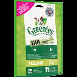 Greenies os à mâcher pour chien de 2 à 7 kg - 11 os (sachet de 85 g)