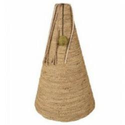 Griffoir à chat en forme de cône avec herbier marin 30 x 30 x 50 cm
