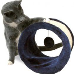 Griffoir cylindre roulant pour chat