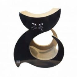 Griffoir en carton avec herbe à chat Seattle M-Pets