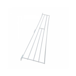 Grille de protection en métal pour fenêtre - Panneau Latéral