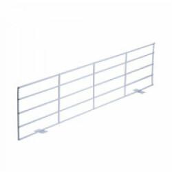 Grille de protection en métal pour fenêtre - Panneau haut/bas