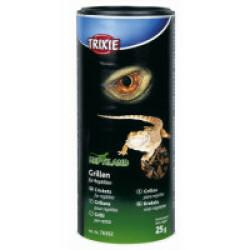 Grillons séchés 250 ml / 25 g pour reptiles Reptiland Trixie