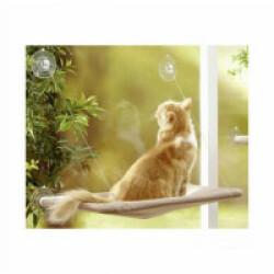 Hamac de fenêtre 33 cm x 54 cm pour chats Anka