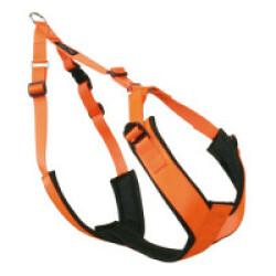 Harnais Canicross Fluo pour chien - T1 (Orange)
