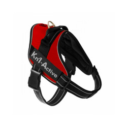 Harnais chien sportif Kn'1 Active Speed Coloris Rouge Taille S