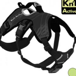 Harnais d'assistance Kn'1 Active Grip pour chien T1 Noir