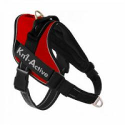 Harnais d'éducation Kn'1 Active Speed Control pour chien Taille S Coloris Rouge