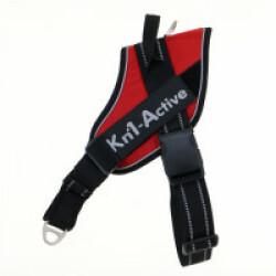 Harnais d'éducation Multisport Kn'1 Active Speed-Control pour chien T1 Rouge