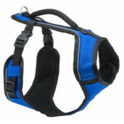 Harnais EasySport Petsafe bleu pour chien