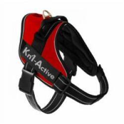 Harnais Kn'1 Active Speed pour chien sportif T1 Rouge