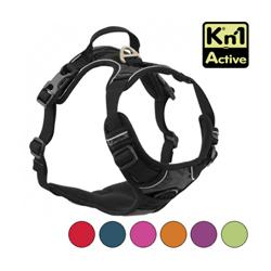 Harnais multifonction Kn'1 Active Drive pour chien T1 Noir