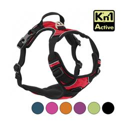 Harnais multifonction Kn'1 Active Drive pour chien T1 Rouge