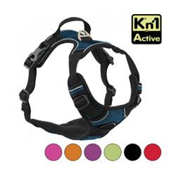 Harnais multifonction Kn'1 Active Drive pour chien T1 Bleu