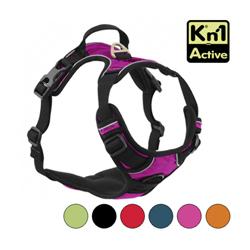Harnais multifonction Kn'1 Active Drive pour chien T1 Violet
