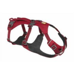 Harnais léger pour chien Flagline™ Ruffwear rouge XXS