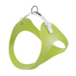 Harnais souple Ergoflex P vert à micro-régulation pour chien