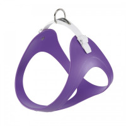 Harnais souple Ergoflex P violet à micro-régulation pour chien