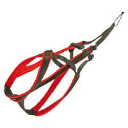 Harnais Speed Race Kn'1 - Taille 1 (Noir/Rouge)