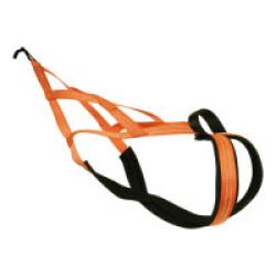 Harnaix X-Back Fluo avec poignée pour Canicross - T45 (Orange)