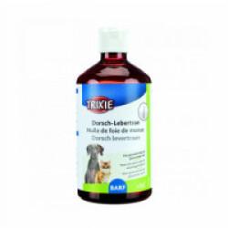 Huile de foie de morue pour chat et chien Trixie 250 ml