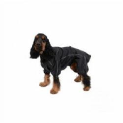 Imperméable pour chien Manchester Kerbl noir Taille XS - Longueur 30 cm