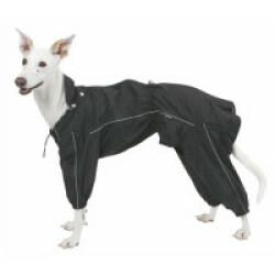 Imperméable pour chien Manchester Kerbl noir Taille L - Longueur 45 cm