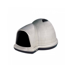 Niche plastique isolée pour chien Indigo Petmate Medium