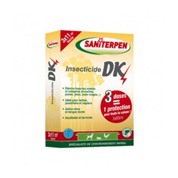 Insecticide concentré pour animaux DK Choc 3 x 60 ml Saniterpen