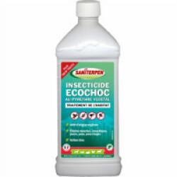 Insecticide Eco Choc sol et extérieur Saniterpen bidon 1 litre