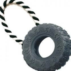 Jeu de traction pneu pour chien