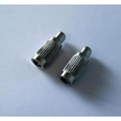 Jeu d'électrodes longues Numaxes pour collier Canicom lot de 2