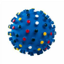 Balle à picots vinyle sonore pour chiot  6.5 cm