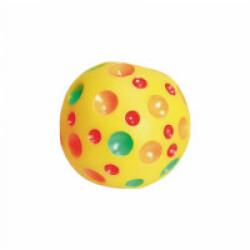 Balle lunaire en vinyle sonore pour chiot ø 8 cm