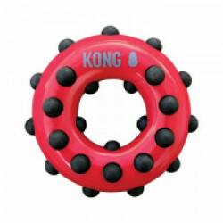 Jouet à mâcher pour chien KONG Dotz Circle Large 16 cm