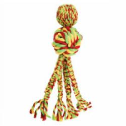 Jouet avec cordes pour chien KONG Wubba Weaves Small 26 cm