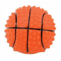 Jouet couineur balle en vinyle pour chien Zolux - modèle Ballon Basket
