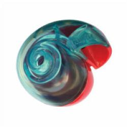 Jouet distributeur de friandises pour chien KONG Rewards Ball Small diamètre 11 cm