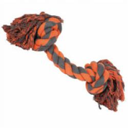 Jouet en laine pour grand chien Extreme 2 noeuds 60 x 17 x 18 cm