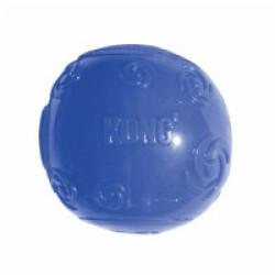 Balle en élastomère KONG Squeezz pour chien joueur et mâchouilleur Medium Ø 6.4 cm