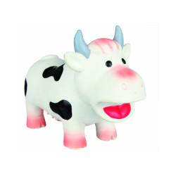 Jouet en latex en forme de vache Trixie