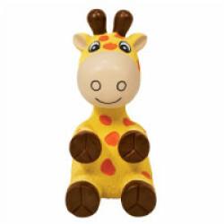 Jouet girafe avec squeaker pour chien KONG Wiggi Large