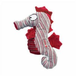 Jouet hippocampe couineur en velours pour chien KONG Cuteseas Seahorse Small 16 cm