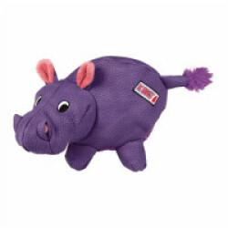 Jouet hippopotame couineur à mastiquer pour chien KONG Phatz Hippo Medium 20 cm