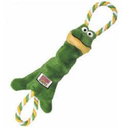 Jouet peluche grenouille couineur à tirer pour chien KONG Knots Small 37 cm
