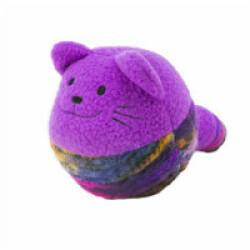 Jouet pour chat forme à bascule KONG Roly Poly Shape diamètre 8 cm