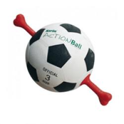 Ballon de foot MatchBall avec poignée pour chien