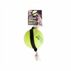 Jouet pour chien ActionBall Tennis à corde