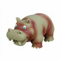 Jouet pour chien hippopotame en latex Trixie 17 cm